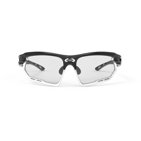 Rudy Project Fotonyk Lunettes, crystal graphite/white/impactX 2 photochromic black